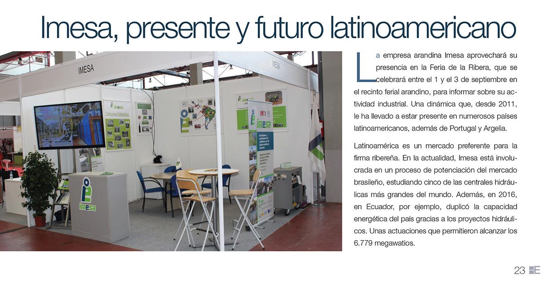 Imesa, presente y futuro latinoamericano